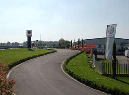 Lavori per l'impianto geotermico all'Eur