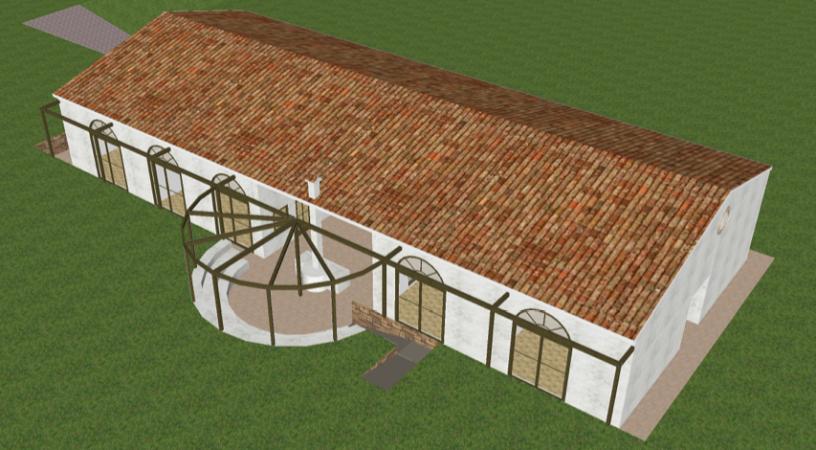Impianto geotermico per la ristrutturazione dell'Agriturismo Serra Niedda