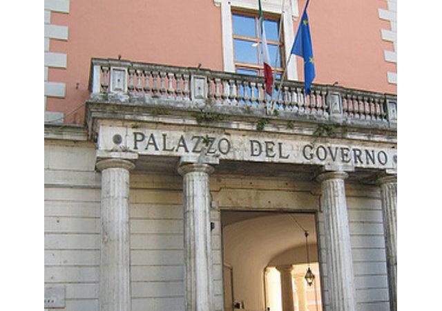 Il restauro del Palazzo del Governo a L'Aquila